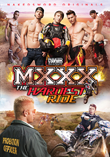 mxxx, the hardest ride, naked sword, nakedsword originals, gay, porn, pheonix fellington, phoenix fellington, ryan rose, interracial