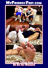 Personal Trainer Adam Ges His Big Feet Worshiped