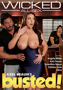 Axel Braun's Busted cover
