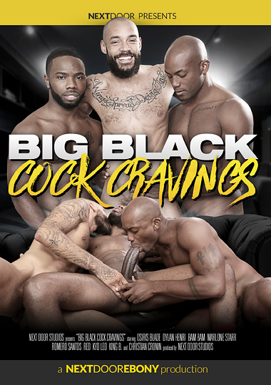 Big Black Cock Cravings Cover Front