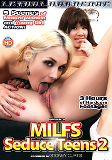 MILFs Seduce Teens 2 cover
