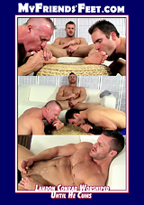 Landon Conrad Worshiped Until He Cums