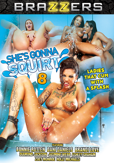 She's Gonna Squirt 8 cover