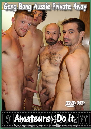 Gang Bang Aussie Private 4way cover