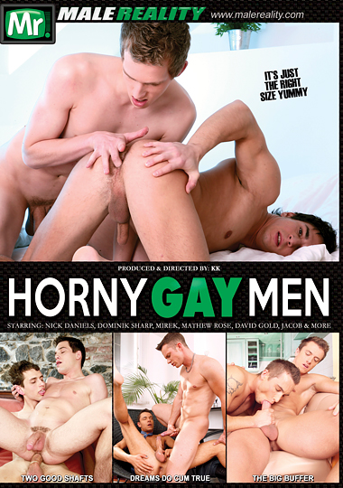 Horny Gay Men Cover Front