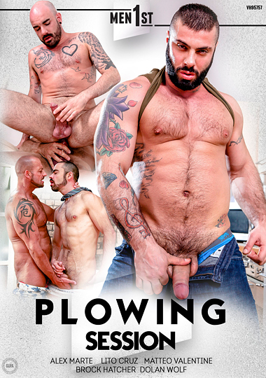 Plowing Session Cover Front