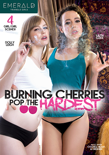 Burning Cherries Pop The Hardest cover