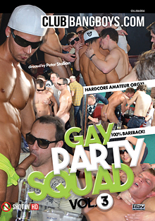 Gay Party Squad 3 cover