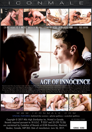 Age of Innocence Cover Back
