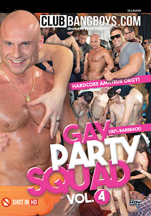 Gay Party Squad 4 cover