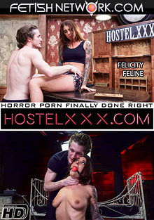 HostelXXX: Felicity Feline cover