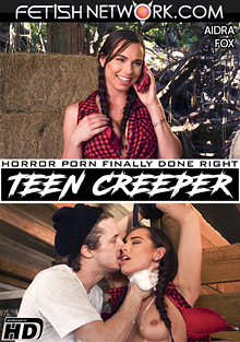 Teen Creeper: Aidra Fox cover