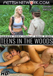 Teens In The Woods: Tiffany Watson cover