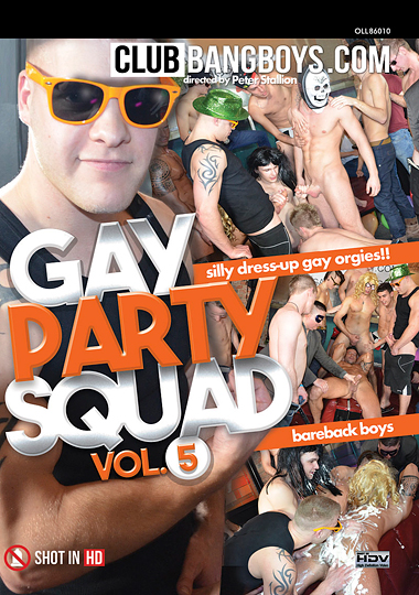 Gay Party Squad 5 cover