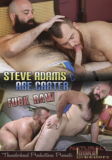 Steve Adams And Abe Carter Fuck Raw cover