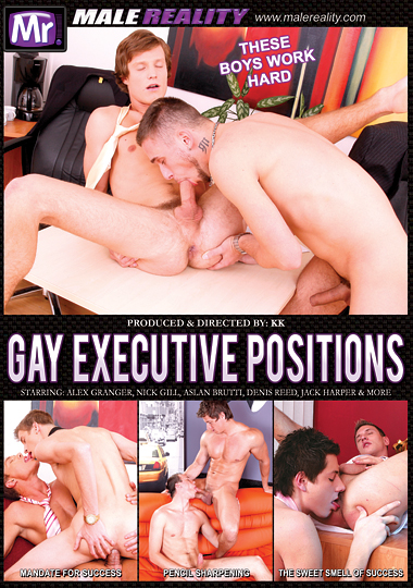 Gay Executive Positions Cover Front