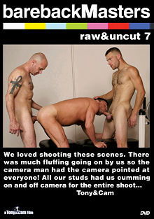 Bareback Masters: Raw And Uncut 7 cover