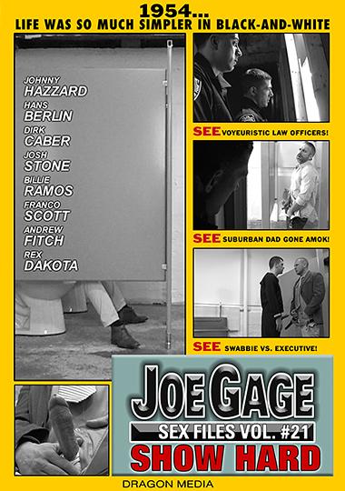 Joe Gage Sex Files 21 Show Hard Cover