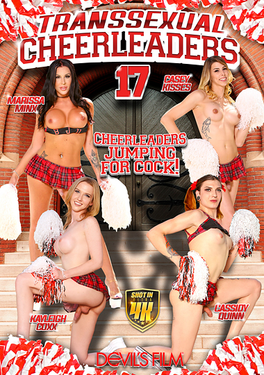 Transsexual Cheerleaders 17 cover