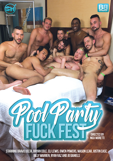 Pool Party Fuck Fest Cover Front
