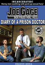 joe gage sex files 22, diary of a prison doctor, myles landon, hugo diaz, dragon media, gay, prison sex, porn