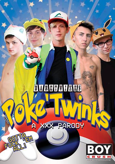 Poke Twinks XXX Parody Cover Front