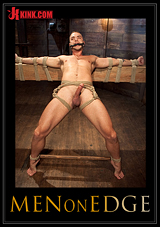 Men On Edge: Jesse Colter - Taken, Tied Up And Edged