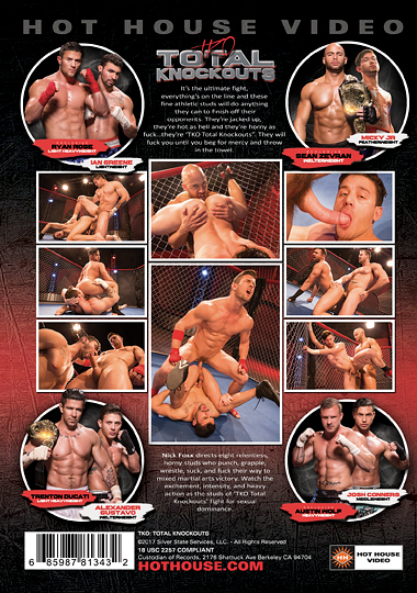 TKO Total Knockouts Cover Back