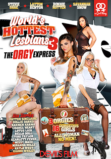 World's Hottest Lesbians 3: The Orgy Express cover