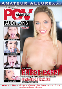 Amateur POV Auditions 29 cover