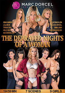 The Depraved Nights Of A Woman cover