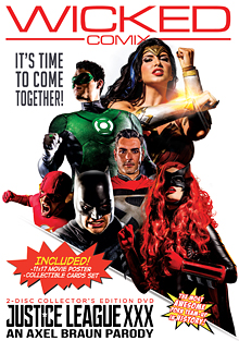 Justice League XXX: An Axel Braun Parody cover