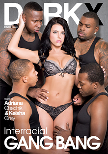 Interracial Gang Bang cover