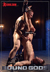 Bound Gods: Tormented In Tight Metal Bondage, Connor Patricks Suffers Cane And Cock Before Receiving A Mouthful Of Cum