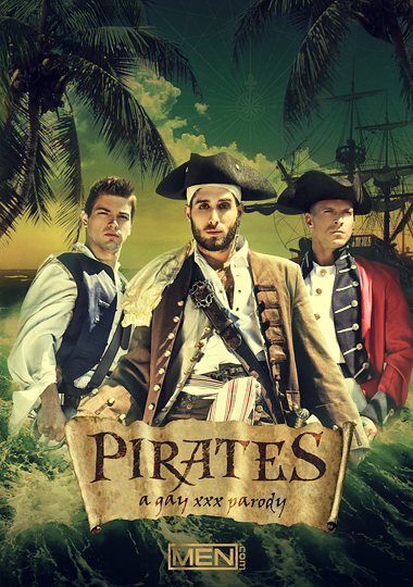 Pirates A Gay XXX Parody Cover Front