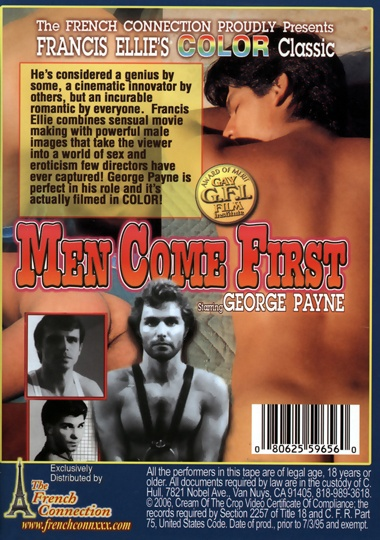 Men Come First Cover Back