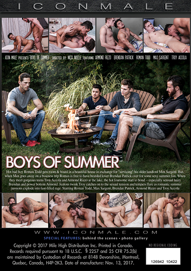 Boys of Summer Cover Back