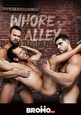 whore alley, bromo, jeremy spreadums, damien stone, gay, porn