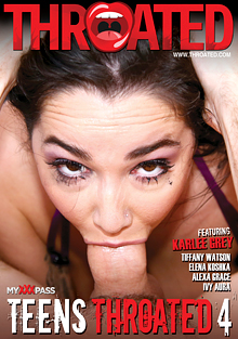 Teens Throated 4 cover
