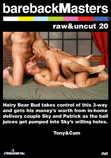Bareback Masters: Raw And Uncut 20 cover