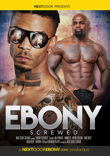 Ebony Screwed Cover Front