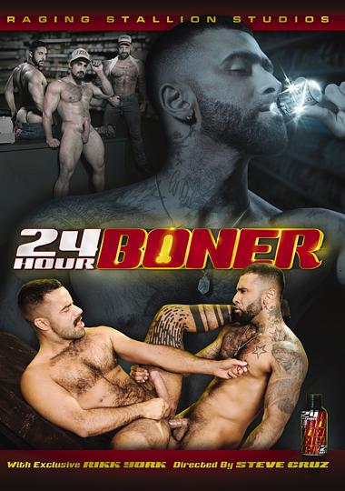 24 Hour Boner Cover Front