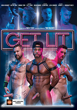 get lit, hot house entertainment, johnny v, josh conners, gay, porn