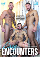 easy encounters, michael roman, seth santoro, parker allen, threeway, skyn men