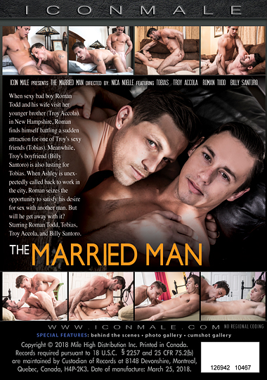 The Married Man Cover Back