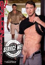 service me, falcon studios, pierce paris, tyler roberts, muscles, blue collar