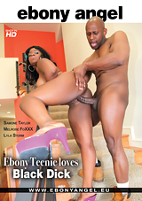 Ebony Teenie Loves Black Dick