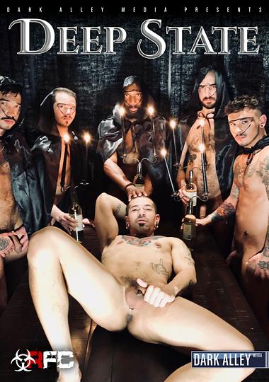 deep state, dark alley media, raw fuck club, bareback, gay, porn, orgy, orgies