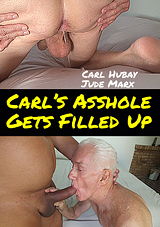 Carl's Asshole Gets Filled Up