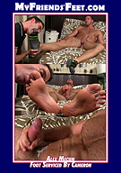 Alex Mecum Foot Serviced By Cameron
